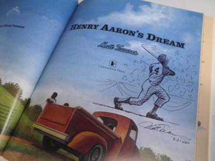 Henry Aaron's Dream Book Giveaway