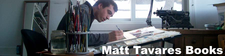 Matt Tavares Books