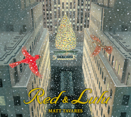 Red and Lulu by Matt Tavares, Candlewick Press